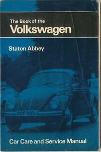 VW Volkswagen Beetle Type 1 2 3 4 Karmann Ghia  up to Aug 1970 Pitmans Manual