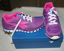 REEBOK REALFLEX TRANSITION 2.0 YOUTH SIZE 6 PURPLE NEW IN BOX FREE SHIPPING