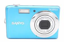 Sanyo VPC-E1500TP 14.0 MP 4x Zoom Digital Camera WITH ACCESSORIES (BLUE)