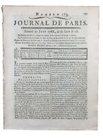 Dentiste en 1788 Orthodontiste Dent Artificielle Journal de Paris Dubois Chémant