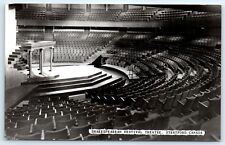 Postcard Canada Stratford Shakespearean Festival Theatre Vtg B&W Photo View E6