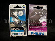 PHILIPS Canbus LED Control Unit + T10 Vision 6000K Pure WHITE LED PARKER REGO