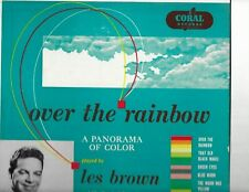 "LES BROWN Over The Rainbow>>10"" LP"
