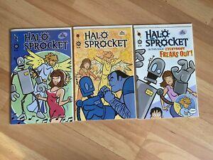 Halo and Sprocket 1-3 (3 Books) High Grade Comic Book - B53-17