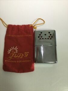 Vintage 1950's ? Jon-E Hand Warmer with Marked Bag Barely Used