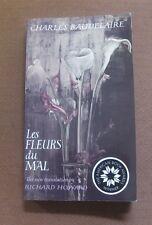 LES FLEURS DU MAL - Charles Baudelaire -2010 PB American Book Award flowers evil