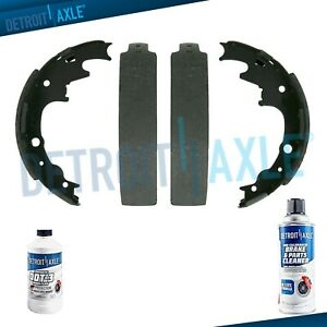 with 2 Years Manufacturer Warranty Both Left and Right 2005 For Mazda B3000 Rear Drum Brake Shoes Set Stirling Note: Riveted, w// 9 Brakes