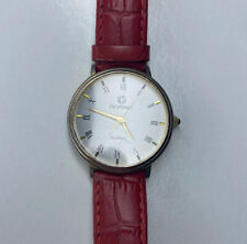 E Giordano Two Tone Ladies Red Croc Leather Working
