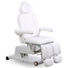 Fußpflegestuhl Kosmetikliege Massageliege  Fußpflegeliege elektrisch