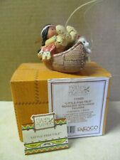 """1994 Enesco Friends of the Feather """"Little Fish Tale"""" #115665 Indian Boy"""