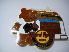 SAN FRANCISCO,Hard Rock Cafe Pin,National Park Bear Series #3
