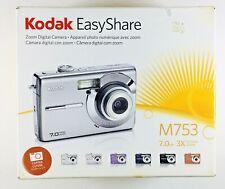 Kodak EasyShare M753 7.0Mp Digital Camera Red Original Box With Accessories
