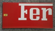 FERRARI RANGE orig 1991-92 Sales Brochure - 348 Mondial F40 512 TR F1 - #616/90