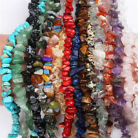 Natural Gemstone Beads Gravel Irregular Geometry Loose Bead DIY Jewelry Maki NT