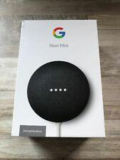 Google Nest Mini 2nd Generation Smart Bluetooth Wireless Speaker - Charcoal