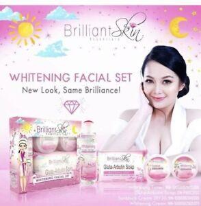 Brilliant  Skin Essentials Whitening Facial Set (Maintenance)❤️😊
