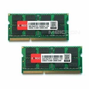 16GB ENROC DDR3L (2x8GB) PC-12800 1600MHz 1.35V 204Pin SO-DIMM Arbeitsspeicher