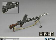Soldier Weapon Model WWII Bren MK Machine Gun 1/6 ZY Toys Action Figure