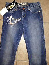 NEW Enyce Womens Jeans, Embroidered, Size 1, 100% Authentic!
