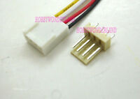 KF2510 2.54 4-Pin female housing Connector Plug wire & Male PCB Header 10 SETS
