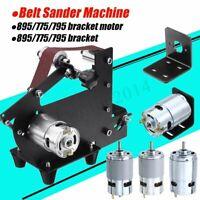 Motor Bracket DC 12V-24V 3000-12000RPM Large Torque Gear Motor / Belt Sander