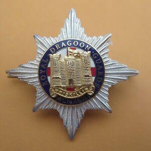 The Royal Dragoon Guards Officers British Army/Military Hat/Cap Badge