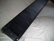 CD Storage holder in matt black wood holds 48 CDs WILL SELL ALL SEVEN AT ONCE