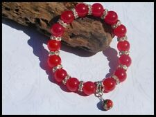 Glass Silver Plated Handcrafted Bracelets