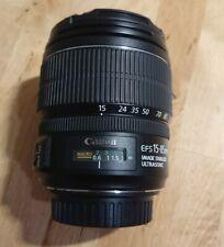 Canon EF-S 15-85mm f3.5-5.6 IS USM Lens EFS