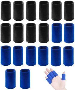 Thumb Brace Finger Sleeves Protectors Sport Thumb Brace Support 20pcs