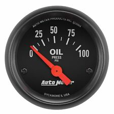 "Auto Meter Z-Series Electric Air Core Oil Pressure Gauge 2 1/16"" (0-100 psi)"