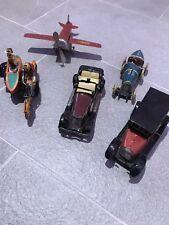 Blechspielzeuge Konvolut Flugzeug Taxi Rennauto Motorrad Canriolet gebraucht