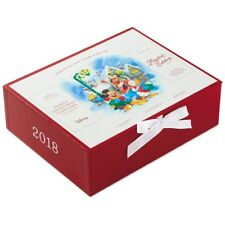 2018 Hallmark Disney Christmas Carolers Ornament Set Mickey Goofy Donald