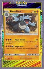 Rhinoféros - SL3:Ombres Ardentes - 66/147 - Carte Pokemon Neuve Française