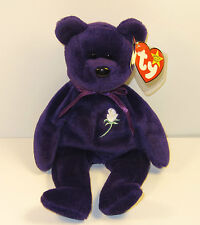 RARE Retired 1997 1st Edition Princess Diana Beanie Baby Bear NWT NO SPACE