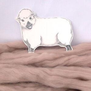 MINK MERINO dyed wool tops / roving / needle felting wool / fibre 50g