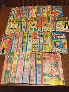 Harvey Comics Lot Of 41 Comic books RICHIE RICH - Vintage  -