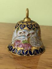 Chinese Cloisonne Bell Ornament