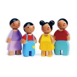NEW Tender Leaf Toys Wooden Sunny Doll Family - Set 4