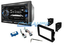 NEW SOUNDSTREAM CAR STEREO RADIO W/ BLUETOOTH AUX/USB INPUTS & INSTALL KIT NO CD
