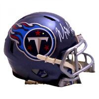 Marcus Mariota Signed Titans Speed Mini Helmet (Beckett COA & Mariota Hologram)