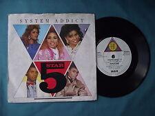 """5 Star - System Addict. 7"""" vinyl single (7v1849)"""