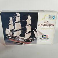 NIB Vintage USS Constitution Old Ironsides Model Kit 1979