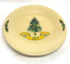 "Fiesta Dinner Plate 10 1/2"" in Christmas Tree 2017 Homer Laughlin Fiesta"