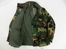 M-65 MILITARY GRADE MEDIUM Coat WOODLAND FIELD JACKET BDU Cold Weather DEFECT