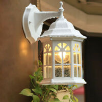 Outdoor Wall Lights Kitchen Glass Wall Sconce Garden Wall Lamp White Lighting