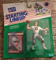 1989 Jay Schroeder Oakland Raiders Kenner Starting Lineup Near Mint