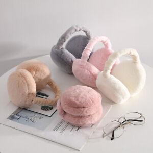 Warmer Unisex Winter Earmuff Women Men Adjustable Wrap Ear Muffs Around Fluffy