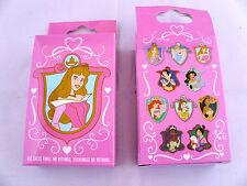 Disney * PRINCESSES on SHIELDS * New & Sealed 2-Pin Mystery Box