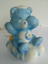 Vintage Care Bears Portable Lamp Collectible Bear Works Bedtime Bear Night Light